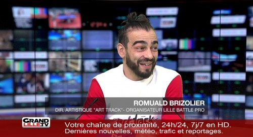 Lille Battle Pro 2018 : l'interview de Romuald Brizolier